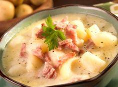 Eric's Ham And Ham And Potato Soup Recipe