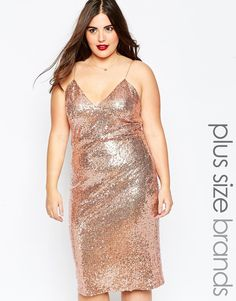 Love this gold sequin dress!! Detailed with chiffon tie belt to ...