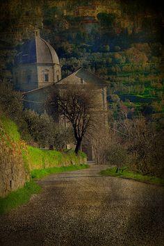 My town.  Santa Maria del Calcinaio - Cortona - Italy @Harpreet Singh Dent Robin White @Chatterworks