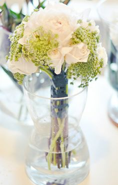 DIY White and green wedding bouquet 6 by ...love Maegan, via Flickr