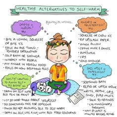 Healthy Alternatives To Self Harm : SelfHarmScars Mental And Emotional Health, Mental Health Matters, Mental Health Awareness, Emotional Resilience, Emotional Awareness, Emotional Regulation, Therapy Worksheets, Therapy Activities, Trauma