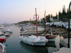 Old harbor very early in the morning Early Morning, Sailing Ships, Greece, Boat, Greece Country, Dinghy, Boats, Sailboat, Tall Ships