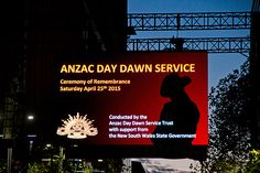 Last years Anzac day ! I was very excited to go even that I had to leave at 2 in the morning. I actually didn't go to sleep that night. THat was my first Azac in the city !
