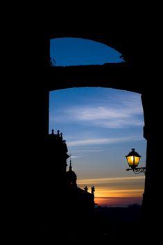 Atardecer en Santiago de Compostela #Galicia