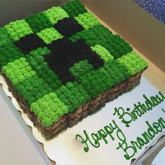 Minecraft Creeper Birthday Cake Combined With Cake Topper Images Best Ideas On M. - Minecraft Creeper Birthday Cake Combined With Cake Topper Images Best Ideas On Mine Craft Cakes Bir - Minecraft Cupcakes, Minecraft Birthday Cake, Easy Minecraft Cake, Amazing Minecraft, Minecraft Skins, Minecraft Cake Toppers, Minecraft Sword, Creeper Minecraft, Minecraft Memes