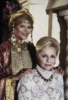 Claudia Cardinale e Virna Lisi