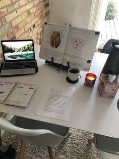 Study Areas, Study Space, Study Desk, Med School, School Notes, Study Organization, School Study Tips, Study Hard, Hard Work
