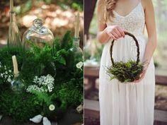 fern wedding ideas - photo by ArinaB Photography http://ruffledblog.com/greenery-filled-wedding-ideas