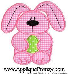 Детские аппликации из ткани.