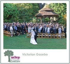 The Victorian Gazebo--SD botanic garden