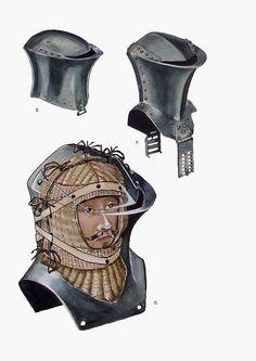 Жабья голова или Штеххелм (нем. Stechhelm) — тип шлема конца XV — всего XVI века для копейной сшибки на турнирах с мощной защитой шеи и лица. Неподвижно крепился к кирасе.