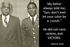 Allen West - a victor, not a victim