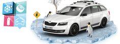 Für den Winterurlaub alles vorbereitet? Zubehör & Wintercheck im Skoda und Seat Autohaus in Bad Doberan.
