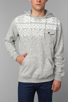 Vans Flurry Pullover Hoodie. This looks nice and clean.. and would make a perfect/not too flashy Christmas outfit!