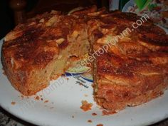 Torta Di Mele Ai 3 Cereali TM31 Senza Latte E Burro