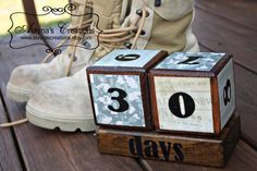 Countdown Blocks for Military Deployments