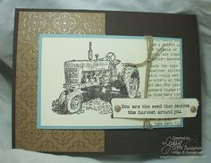 Harvest Blessings - Song of My Heart Stampers