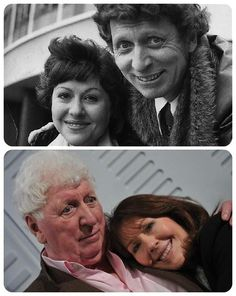 Doctor Who: The Fourth Doctor (Tom Baker) and Sarah Jane Smith (Elisabeth Sladen). One of my very favorite Doctors *and* Companions! Disneysea Tokyo, Sarah Jane Smith, 4th Doctor, Eleventh Doctor, Classic Doctor Who, Out Of Touch, Hello Sweetie, Cinema, Torchwood