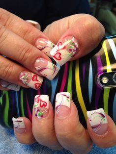 Valentine's nails design