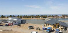 Loma-asuntomessut Kalajoella kesällä 2014 rakentuvat upeisiin maisemiin.
