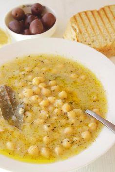 Chickpea Soup, Chickpea Recipes, Vegetarian Recipes, Cooking Recipes, Healthy Recipes, Budget Recipes, Frugal Meals, Freezer Meals, Le Diner