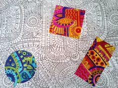 Couleurs chaudes / couleurs froides - Les outils de Malinous Middle School Art Projects, Art School, School Ideas, Classe D'art, Art Prompts, Arts Ed, Art Classroom, Art Plastique, Geometric Art