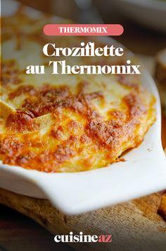 La croziflette au Thermomix est un mélange de tartiflette et de crozets (petites pâtes). #recette#cuisine#coziflette#tartiflette #crozet #robotculinaire #thermomix