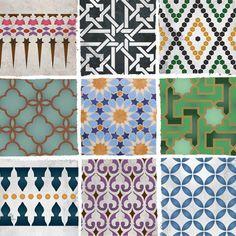 more moroccan stencils #2