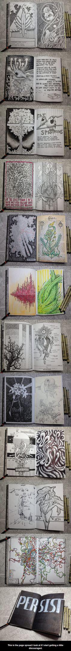 Awesome sketchbook!
