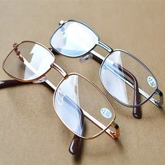 f64e5dbceeb Buy Full Metal Frame Resin Lenses Comfy light glasses For men women Reading  glasses