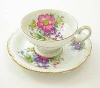 Demitasse cups & saucers - mama started my collection