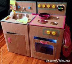 Karton Kutulardan 11 Harika Mutfak Tasarımı!
