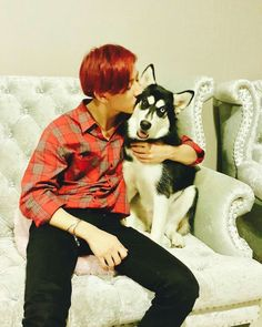BamBam with his puppy