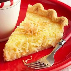 Old-Fashioned Buttermilk Coconut Pie: A classic from St. Charles, Missouri.