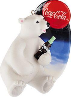 Carlton Heirloom Ornament 2012 Coca-Cola Polar Bear - Porcelain - #CXOR044B | Collectibles, Decorative Collectibles, Decorative Collectible Brands | eBay!