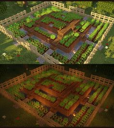 minecraft building ideas I have built a compact farm with 3 levels on those you can plant everything you want but carefully separate the types. Can you build better and what th Château Minecraft, Construction Minecraft, Minecraft Building Guide, Amazing Minecraft, Minecraft Survival, Minecraft Tutorial, Minecraft Blueprints, Cool Minecraft Houses, Minecraft Crafts