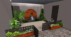 Arreglos, Adornos y Decoraciones para Jardines · Ideas · Diseños 3D y 2D ● Zen Ambient