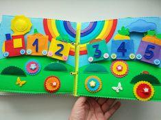 Развивающие мягкие книжки из фетра!