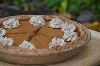 SCD Pumpkin Pie w/ Vanilla Bean Coconut Whipped Cream DF