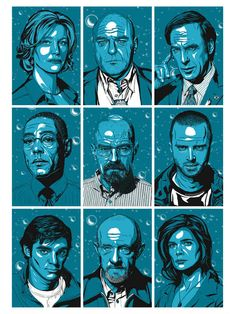 Awesome Art We've Found Around The Net: The Breaking Bad Special - Movie News | JoBlo.com
