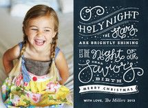 Brightly Shining Holiday Photo Cards by Jennifer W... | Minted