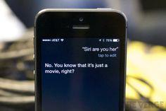 Siri's a little jealous of Scarlett Johansson in 'Her'