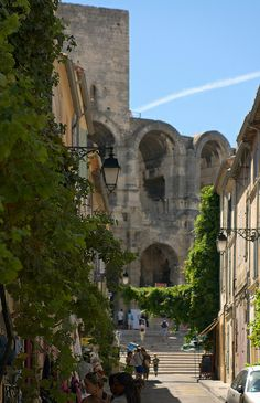 Rue Voltaire, Arles, France by Dmitry Shakin, via Flickr