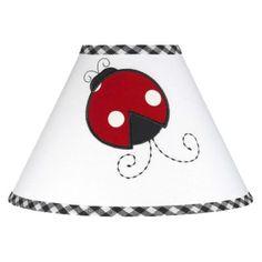JoJo Designs Little Ladybug Lampshade.Opens in a new window