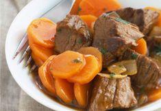 Du boeuf - Meals And Beverages - Best Gateau Power Pressure Cooker, French Food, I Love Food, Meat Recipes, Meat Meals, Pot Roast, Bon Appetit, I Foods, Stew