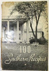 1938: 100 Recipes from The Old South Cookbook? I could lose myself in this, if only I had a copy of it