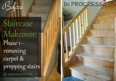 I'm really intrigued by staircase makeovers. I see a project in my future!