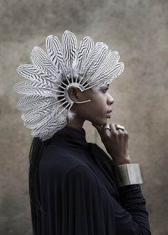 White Feather Ear Cuff – HOUSE OF MALAKAI