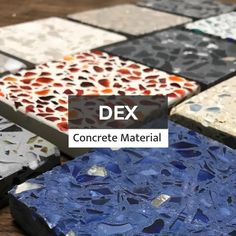 DEX offers a range of high-performance concrete materials for both commercial & residential projects. Our concrete can be internally pigmented to work with any color pallet, and formed to any shape to provide a durable and stain-resistant finish.