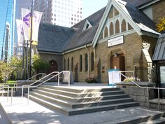 Christ Church Cathedral in downtown Vancouver. We've performed there often and they have the best church choir in Canada.